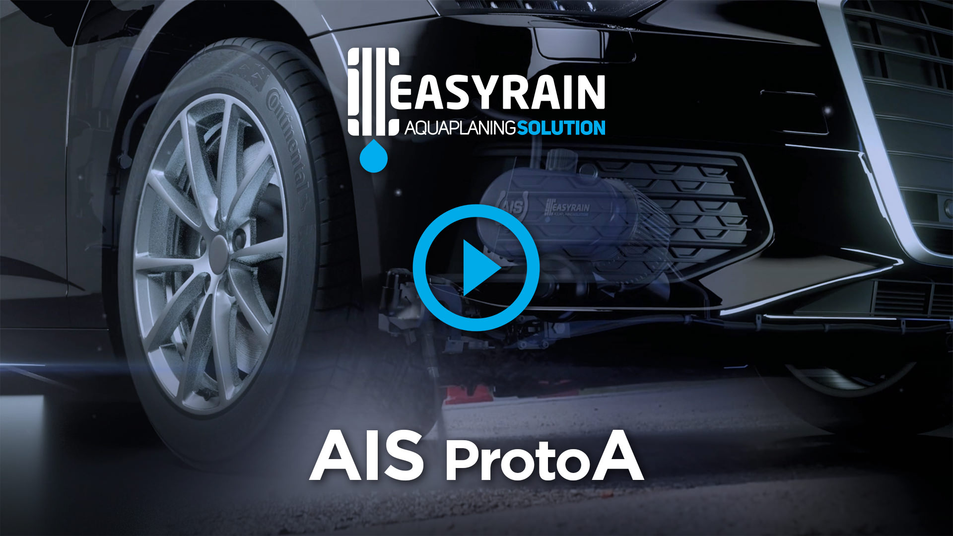 Easyrain AIS Proto A - Aquaplaning Intelligent Solution